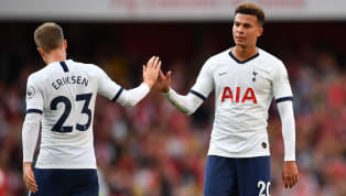 ​Tottenham Hotspur midfielder Dele Alli has confessed that he was sad to see Denmark international Christian Eriksen leave the club during the January...