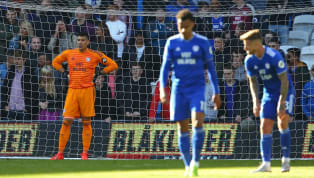 tion Cardiff City were officially relegated to the Championship with a game to spare, as Crystal Palace beat them 3-2 on Saturday evening. Cardiff came within...