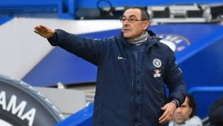 ​Maurizio Sarri admitted that he was surprised by the 'strange' reaction from his team after falling behind after watching his Chelsea side lose 0-1 at home...