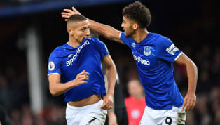 ints ​An outstanding solo effort by Richarlison was enough to see Everton come away with all three points against a lacklustre Brighton side at Goodison Park...