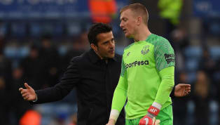 England and Everton number one Jordan Pickford has been pressed to improve his 'emotional balance' following a topsy-turvy campaign in the Premier League...