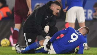 ​Leicester City manager Brendan Rodgers has played down concerns about the injury Jamie Vardy suffered during Sunday's 4-1 win over West Ham United. The...