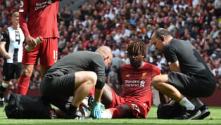 ​Liverpool's Champions League hero Divock Origi is set to have a scan on an ankle injury which forced him to leave the pitch midway through the first half...