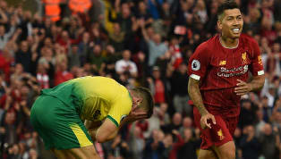 การแข่งขันฟุตบอล พรีเมียร์ลีกอังกฤษ 2019/20 วันแข่งขันคืนวันศุกร์ที่ 9 สิงหาคม 2019 ผลการแข่งขัน ลิเวอร์พูล 4-1 นอริช ซิตี้ สนาม แอนฟิลด์ อลิสซอน เบ็คเกอร์...