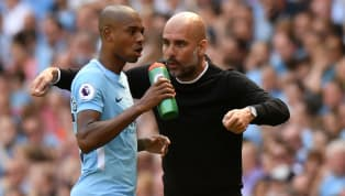 ​Pep Guardiola has suggested that Fernandinho may not be fit to return to action for Manchester City's remaining Premier League fixtures against Leicester and...