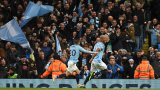 Win Manchester City are one game away from wrapping up the Premier League title after Vincent Kompany's 30 yard screamer gave them victory at home to...