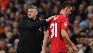 ​Manchester United boss Ole Gunnar Solskjaer was left fuming following his side's glorious Carabao Cup defeat to Manchester City following a red card shown to...