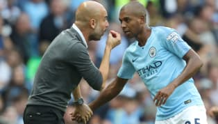 Pep Guardiola happily praised the performances of both Riyad Mahrez and Fernandinho, after each man scored in City's impressive 5-0 win over Burnley in the...