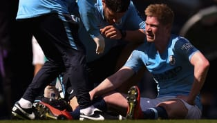 Manchester City fans will be holding their breathe after Kevin De Bruyne was forced off during their 1-0 win over Tottenham due to a leg injury. The home side...