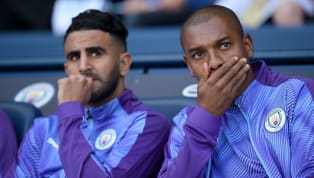 ​Riyad Mahrez has unwittingly revealed Manchester City teammate Fernandinho is going to leave the club next summer when the Brazilian's contract expires,...