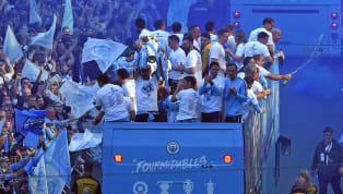 Manchester City took to the streets to celebrate their historic domestic treble on Monday, as players and fans alike kicked back to mark the occasion. City...