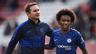 ​Chelsea winger Willian has given an insight into life at Stamford Bridge following the arrival of former player Frank Lampard as head coach, revealing 'it's...