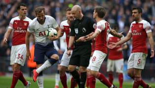 Beim 1:1 zwischen Arsenal und Tottenham standen nicht nur die Spieler, sondern auch der Schiedsrichter im Mittelpunkt.  Anthony Taylor ist normalerweise...