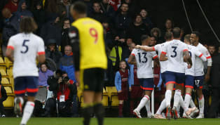 tory Bournemouth stormed to an easy victory over 10-man Watford in one of the simplest games they'll play this season.  David Brooks continued his...