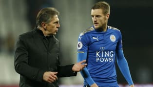 hip' ​Leicester boss Claude Puel has moved to play down suggestions of a rift between him and Jamie Vardy after the striker was seemingly caught on...