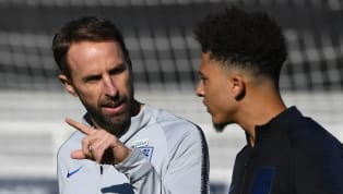 ​Gareth Southgate has already informed highly-rated Borussia Dortmund starlet Jadon Sancho that he will be part of the England squad for the Nations League...