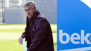 Quique Sétien va effectuer sa grande première ce weekend à la tête du FC Barcelone. Arrivé il y a moins d'une semaine pour remplacer Ernesto Valverde, pas...