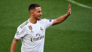 Eden Hazard was filmed kissing the Real Madrid badge while being officially unveiled at the Bernabeu following his move from Chelsea. The Belgian winger was...