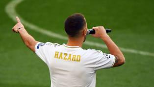 Suite à sa présentation au Santiago Bernabeu, Eden Hazard a révélé qu'il avait demandé le n°10 de Luka Modric, qui lui a gentiment mais fermement refusé....