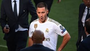 Eden Hazard has trained as a Real Madrid player for the first time, as reports from Spain say the Belgianis occupying the number 23 shirt for the time...