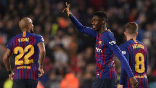 ters Ousmane Dembele and Lionel Messi starred as Barcelona overturned a first-leg deficit against Levante, as they reached the quarter finals of the Copa del...