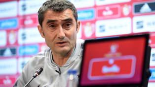 Ernesto Valverde compareció en la rueda de prensa previa al debut del FC Barcelonaen Liga ante el Athletic Club, mañana viernes a las 21:00 en San Mamés. El...
