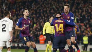 Pour le compte de la demi-finale aller de la Coupe du Roi, le Barça recevait le Real Madrid pour le premier des trois Clasico programmés en un mois. Dans une...