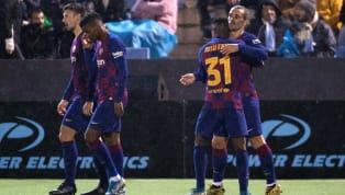 32 Besar Copa del Rey Ibiza 1-2 Barcelona Estadi Municipal de Can Misses FC Barcelona melaju ke-16 besar Copa del Rey usai menang 2-1 atas Ibiza di Estadi...
