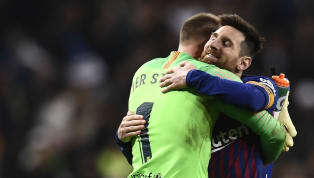 Barcelona goalkeeper Marc-Andre ter Stegen has stated he believes that teammate Lionel Messi 'deserves to choose his own future', following the Argentine's...