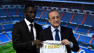 Ferland Mendy fue presentado como nuevo jugador del Real Madrid este miércoles en el Santiago Bernabéu y como todos los recién llegados, tras la presentación...
