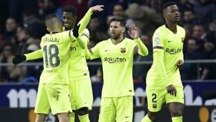 Ousmane Dembele bất ngờ đóng vai người hùng khi ghi bàn thắng muộn giúp Barcelona cầm hòa kịch tính trước Atletico Madrid với tỉ số 1-1 trong trận cầu tâm...