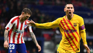 ain) The combination of Lionel Messi and Luis Suarez once again proved to be the undoing of Atletico Madrid, as the latter assisted the former to inflict a...