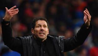 Simeone compareció ante los medios en la rueda de prensa previa al partido que se disputará mañana, a las 16:15, entre elAtlético de Madridy...
