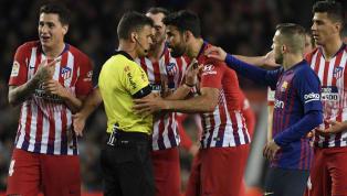 Diego Costa fue el protagonista de forma negativa durante elBarça-Atlético. El delantero hispano-brasileño volvía tras una lesión muscular y duró sobre el...