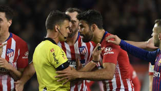 Diego Costa đã chính thức nhận án phạt treo giò đến hết mùa giải sau sự việc dùng lời lẽ tục tĩu để lăng mạ trọng tài chính trận Barcelona - Atletico Madrid...