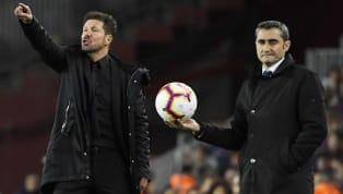 Après la victoire du Barça contre l'Atlético Madrid (1-0), Diego Simeone et Ernesto Valverde ont félicité la GSM (Griezmann-Suarez-Messi) pour leur...