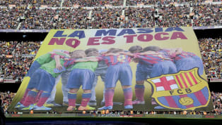 ​Before Barcelona's 3-1 victory against Real Betis in 2013, a banner produced by their supporters was emblazoned with the words 'La Masia no es toca' which...