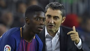 'We Have Training' - Barcelona Boss Ernesto Valverde not Ready to let Ousmane Dembele off the Hook