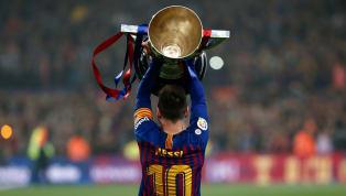 Barcelona chính thức lên ngôi vô địch La Liga sớm ba vòng đấu sau chiến thắng 1-0 trước Levante rạng sáng 28.4, nhưng có năm trận cầu mang tính chất quan...