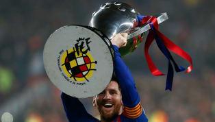 La final de Copa ante el Valencia se le escapó al Barcelona y a Messi , pero eso no puede ocultar un dato espectacular: desde la llegada del argentino al...