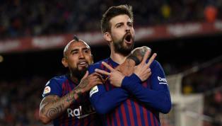 El FC Barcelona ha marcado todo tipo de goles diferentes y para todos los gustos a lo largo de la temporada pero el que anotó el defensa no lo habíamos visto...