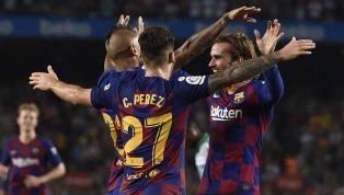El Barcelona volvió a jugar un partido oficial en el Camp Nou y se estrenó ante su público de la mejor manera, goleando a un Betis que aun así dio un susto...