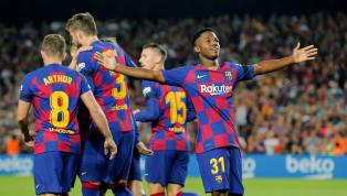 Barcelonađè bẹp Valencia 5-2 trong ngày mà sao mai Ansu Fati làm nên lịch sử trong trận cầu vòng 4 La Liga diễn ra khuya 14.9 vừa qua. Chấm điểm Barcelona...