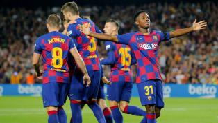 Barcelona berhasil mendapatkan kemenangan kedua mereka dalam kompetisi La Liga 2019/20 setelah mengalahkan Valencia dengan skor 5-2 di Camp Nou pada Minggu...