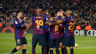 Pada laga lanjutan La Liga2018/19,Barcelonaberhasil meraih tiga poin kontra Real Valladolid, karena berhasil menang dengan skor tipis 1-0. Megabintang...