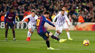 El argentino delFC Barcelonaconvirtió un lanzamiento desde los once metros para ganar, por la mínima, al Real Valladolid enLaLiga. No obstante, también...