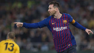 Lionel Messi was in typically inspired form ​for Barcelona on Sunday evening, scoring a majestic hat-trick as La Blaugrana comfortably dispatched Real Betis...