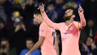 Win Barcelona kicked off 2019 with a hard-fought 2-1 win over Getafe on Sunday evening thanks to goals from Lionel Messi and Luis Suarez. Barcelona rode their...