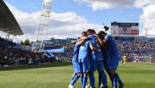  📝 ¡Ya conocemos el once azulón con el que nos enfrentaremos en la tarde/noche de hoy al @AthleticClub! #VamosGeta #GetafeAthletic pic.twitter.com/qCE464Yglr...