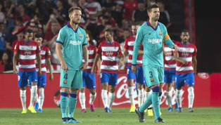 ​Barcelona manager Ernesto Valverde has admitted he's worried about the club's form away from home after newly promoted Granada secured a 2-0 win over the...